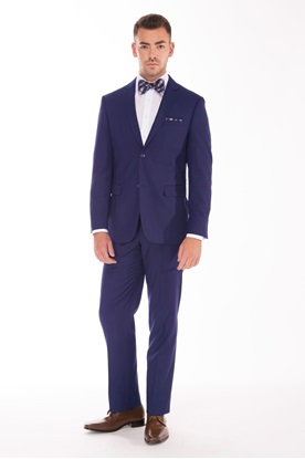 Picture of French Blue Wedding Suit