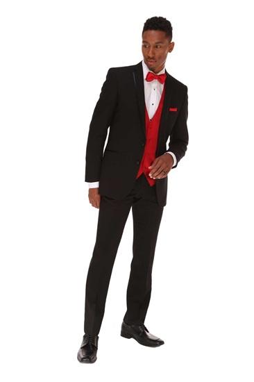 Picture of Black GiNovia Beckett Tuxedo