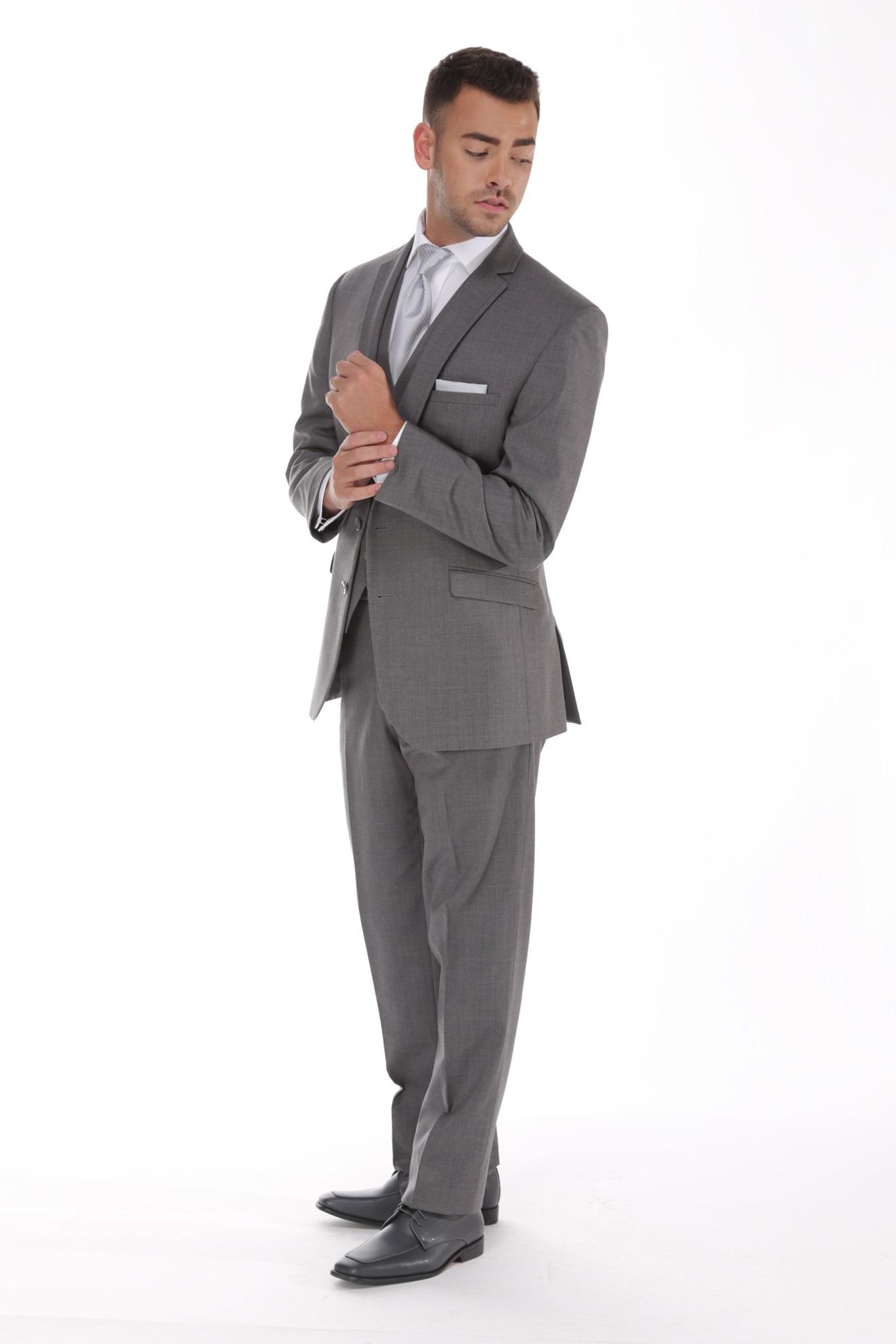 Milroy's Tuxedos - Grey Smoke GiNovia Moda Suit-