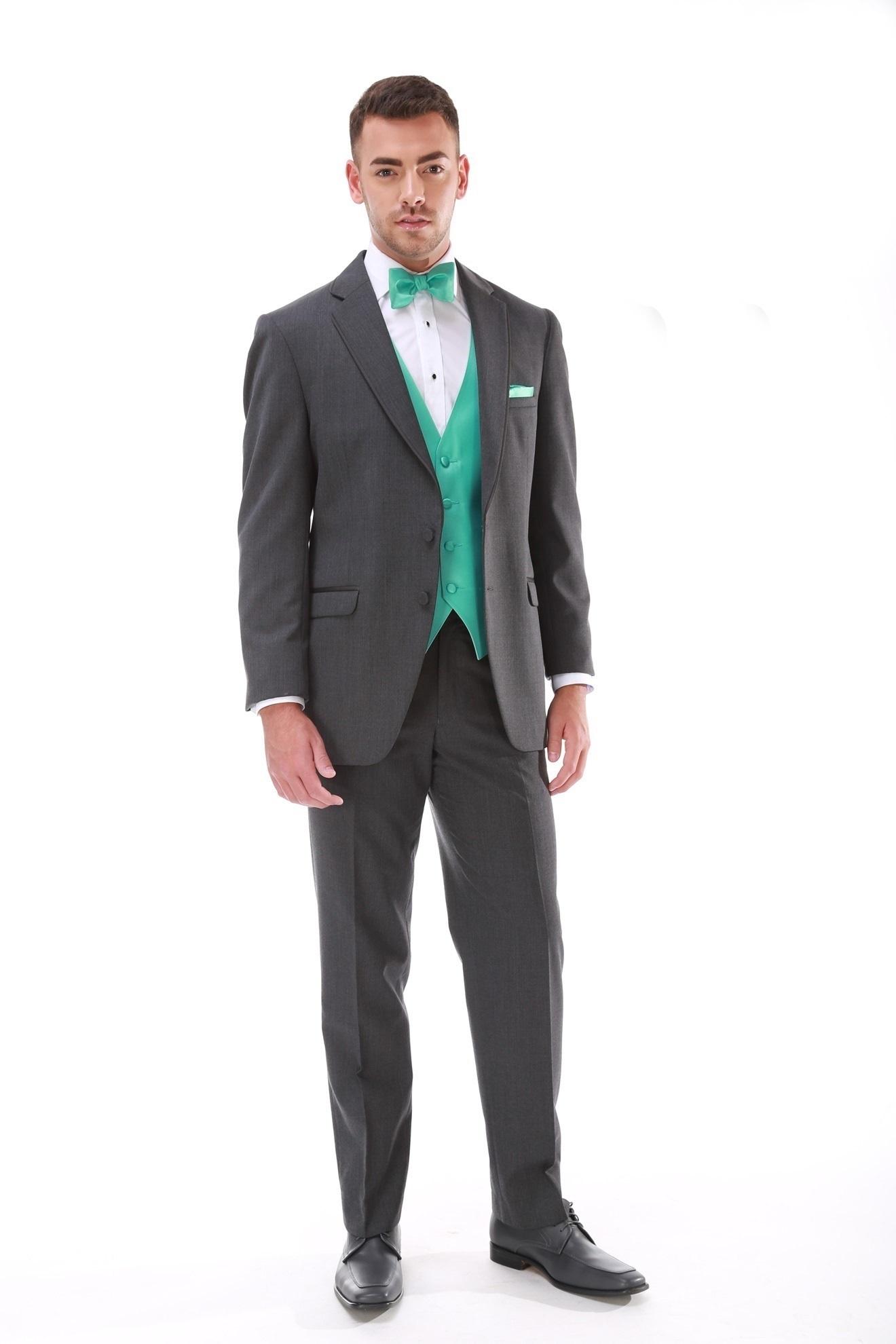 Milroy's Tuxedos - Grey Steel Allure Men