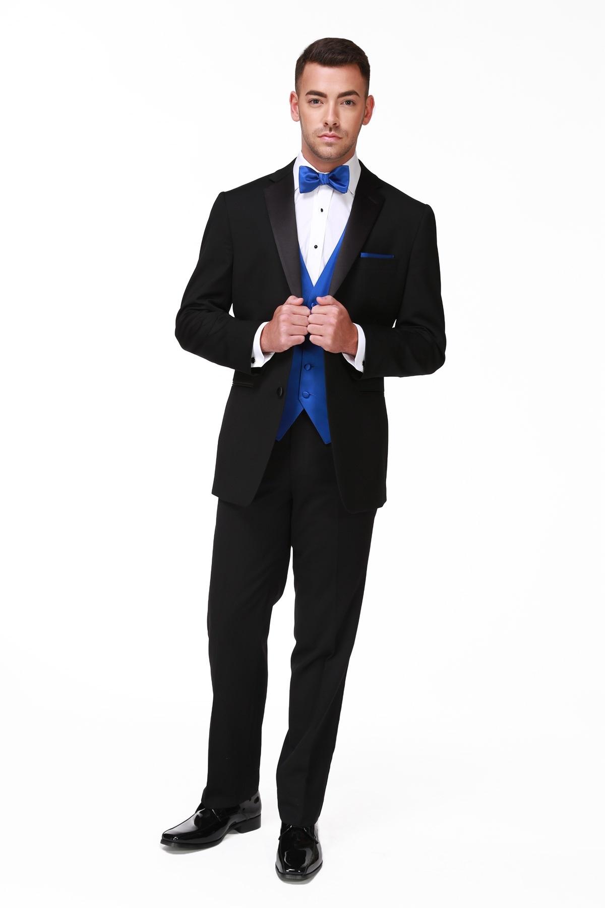 Black Ike Behar Tuxedo Picture Of Parker