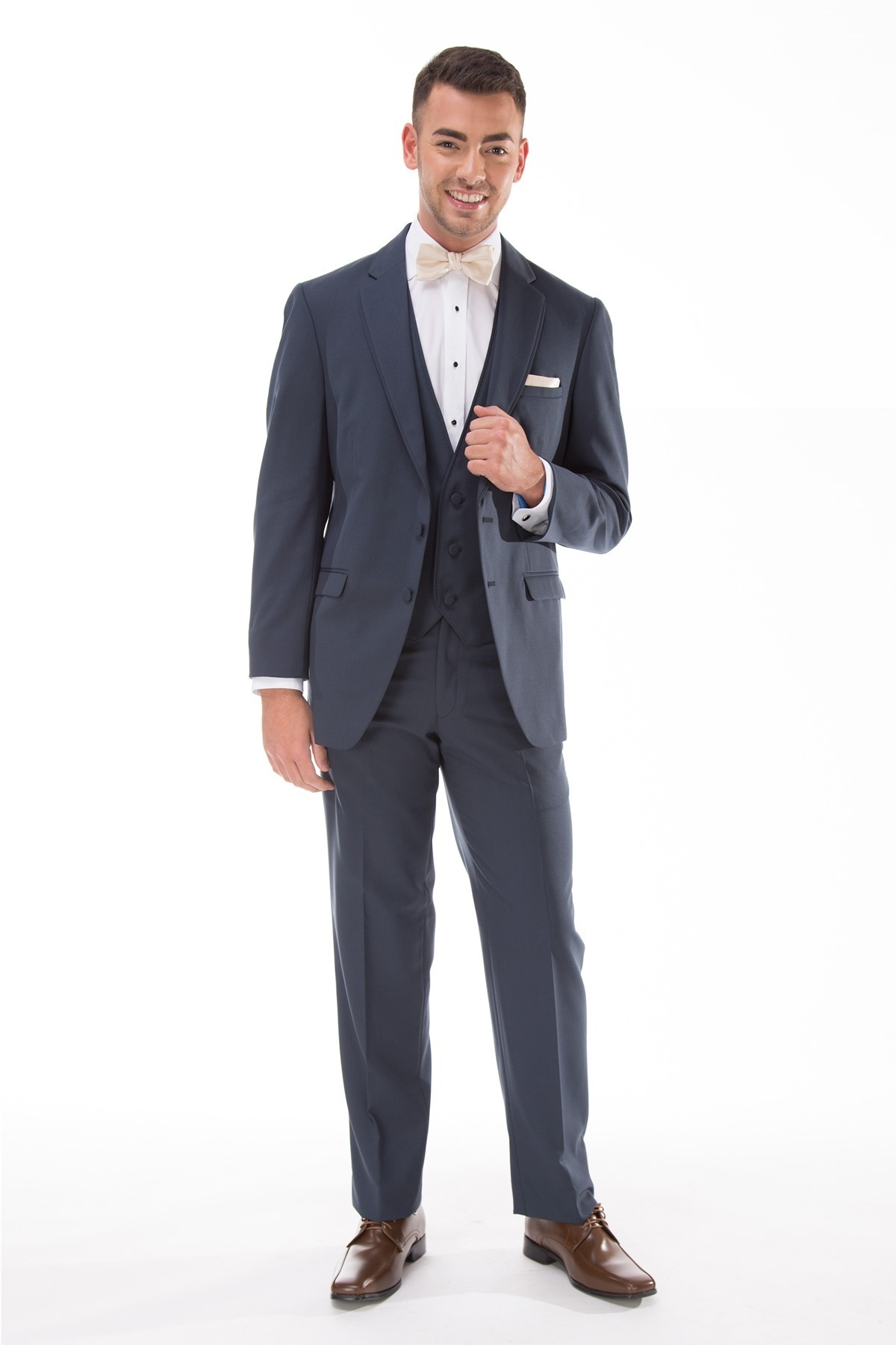 Milroy\'s Tuxedos - Blue Slate Allure Men