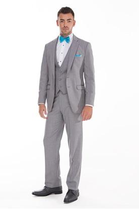 Allure Men, Grey, Tuxedo, Prom, Wedding