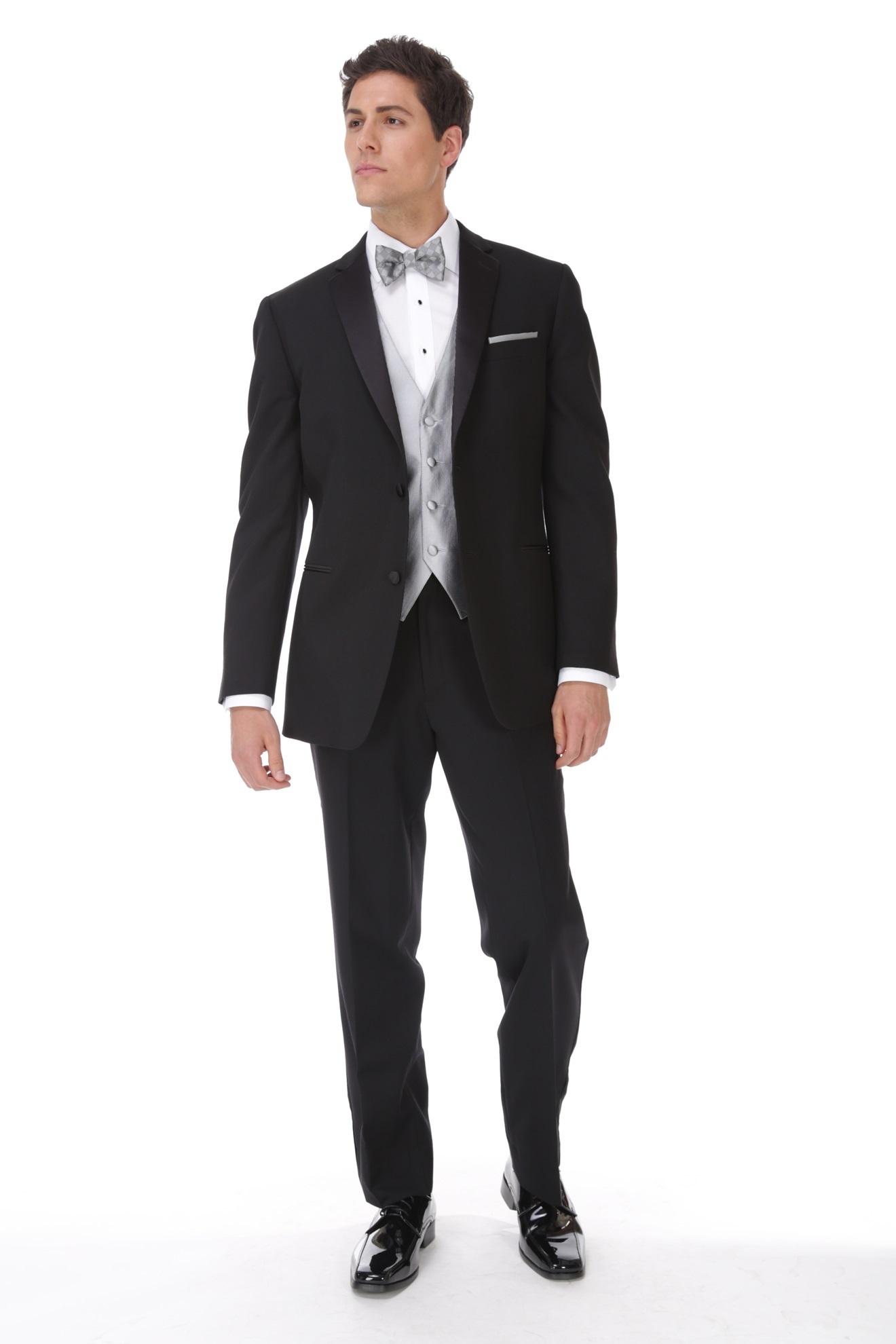 Milroy 39 s tuxedos black classic notch tuxedo for Tuxedo house
