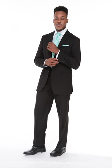 Picture of Black Jean Yves Ceremonial Suit