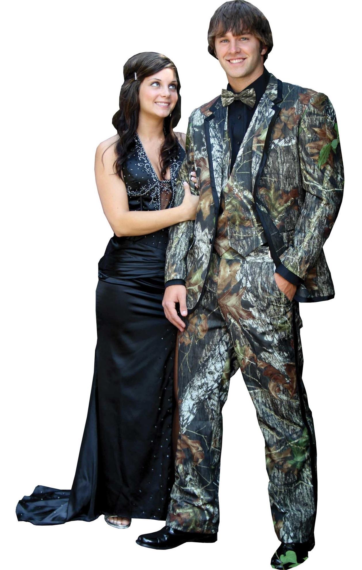 Milroy\'s Tuxedos - Mossy Oak Alpine Camo Tuxedo