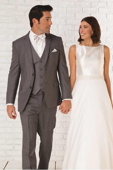 Milroy\u0027s Tuxedos , Grey Smoke GiNovia Moda Suit,