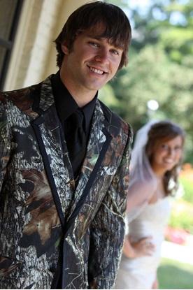 Mossy Oak Camo Tuxedo