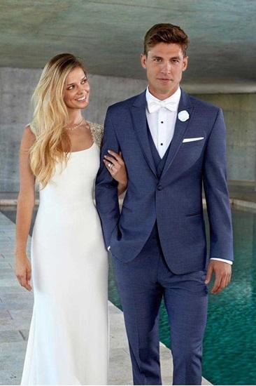 Blue Lane Wedding Suit