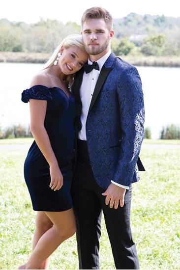 Blue Paisley Tuxedo Rental  Prom Tuxedo Rental  Blue Paisley Coat