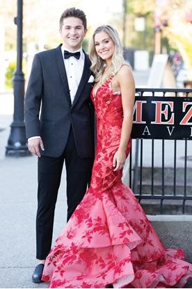 Black Austin Diamond Weave Tuxedos Prom Rental