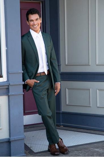 Hunter Green Suit Rental